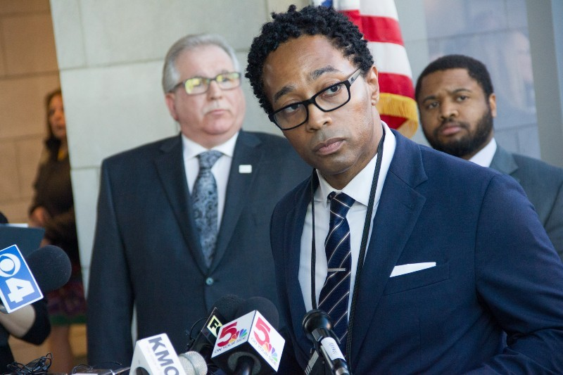 Wesley Bell was elected on a progressive platform to St. Louis County prosecuting attorney. - DANNY WICENTOWSKI