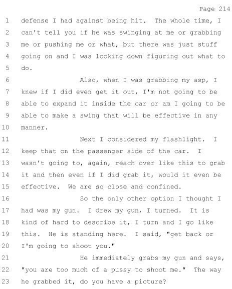 From page 214 of Grand Jury Volume 5.