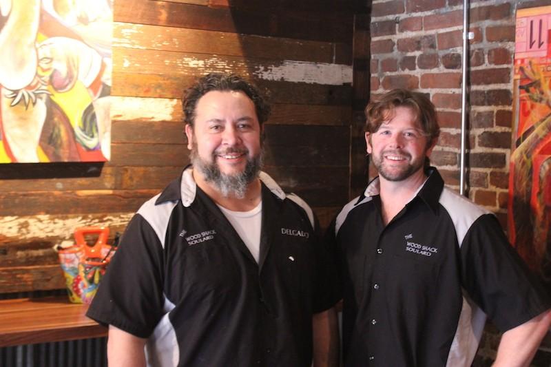 Chris Delgado, left, and Patrick McGinnis. - PHOTO BY SARAH FENSKE