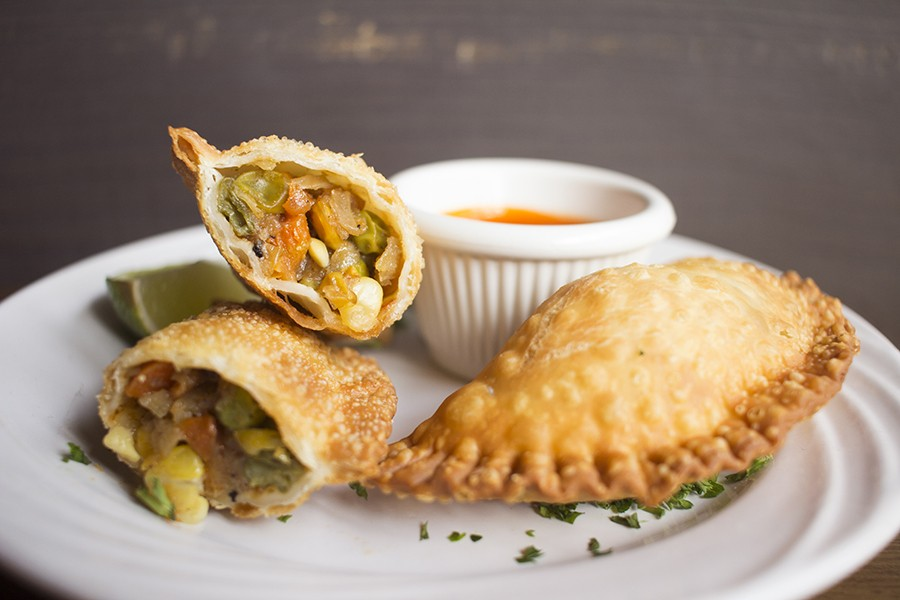 Sambusas are pastries filled with vegetables, then fried. - PHOTO BY MABEL SUEN