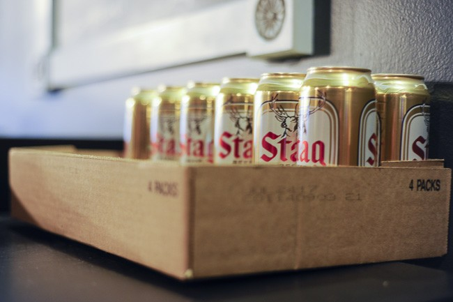 Stag: south St. Louis' beer of choice. - PHOTO BY KELLY GLUECK