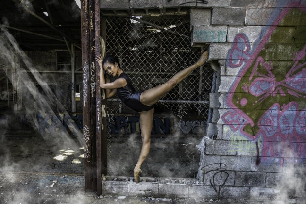 Kimberley Ho-Tsai of Collage Dance Collective. - PHOTO BY BILL SIMMERS