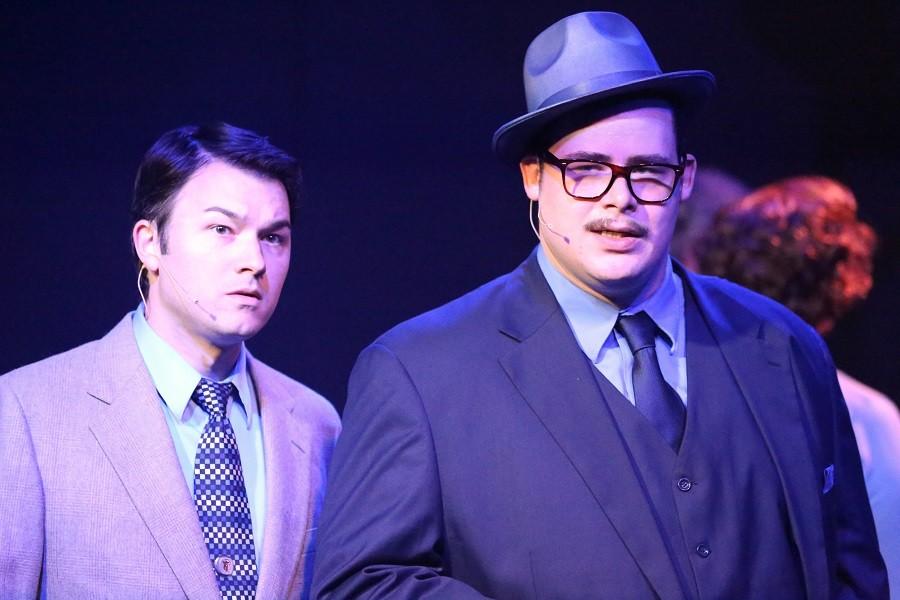 Sidney (Matt Pentecost) wants to be like J.J. (Zachary Allen Farmer). Big mistake. - JILL RITTER LINDBERG