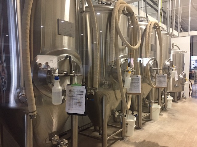 The brewing system has plenty of room to grow. - PHOTO BY EMILY MCCARTER