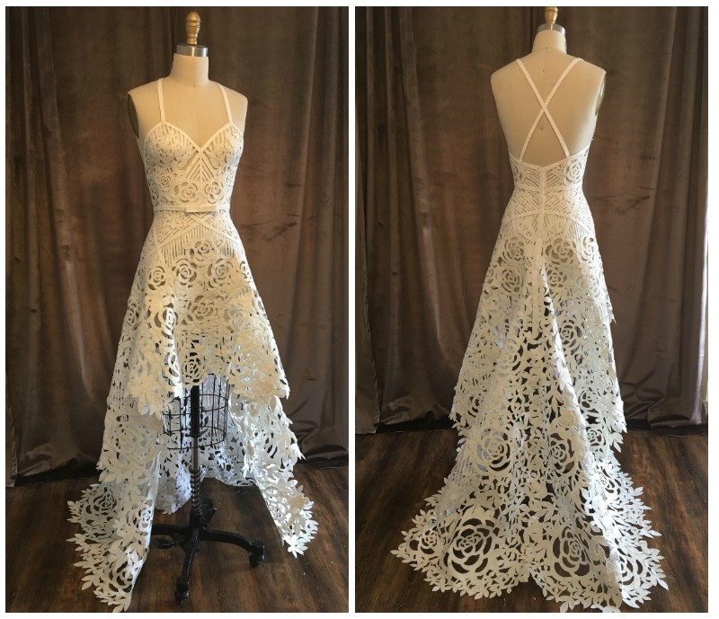 A St Louis Designer Created Your Dream Wedding Dress Out Of