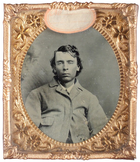 """Dave Marshal, a suspected """"moll buzzer,"""" or thief who pickpockets or steals women's purses. Text adapted from Captured and Exposed: The First Police Rogues' Gallery in America by Shayne Davidson. - PHOTO COURTESY OF THE MISSOURI HISTORY MUSEUM"""