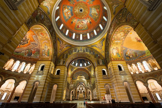 The Cathedral Basilica: Because mosaics are way hip. - PHOTO COURTESY OF FLICKR/TEXAS TONGS