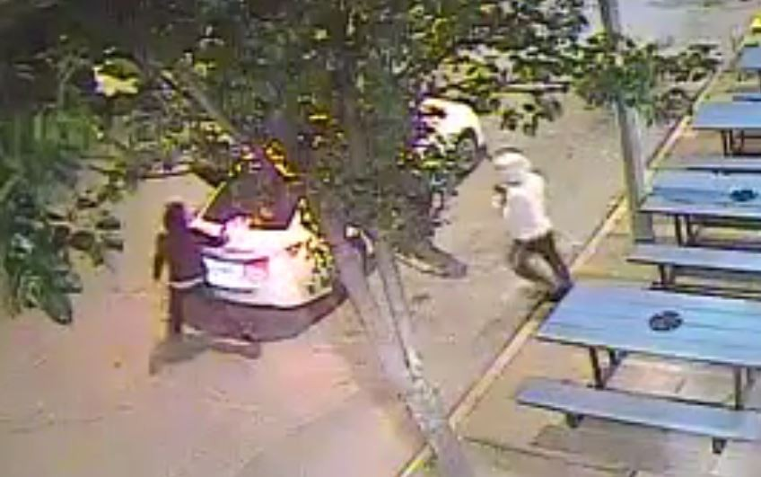 Suspects in a Delmar Loop robbery escaped in this Toyota Camry, police say. - IMAGE VIA ST. LOUIS METROPOLITAN POLICE