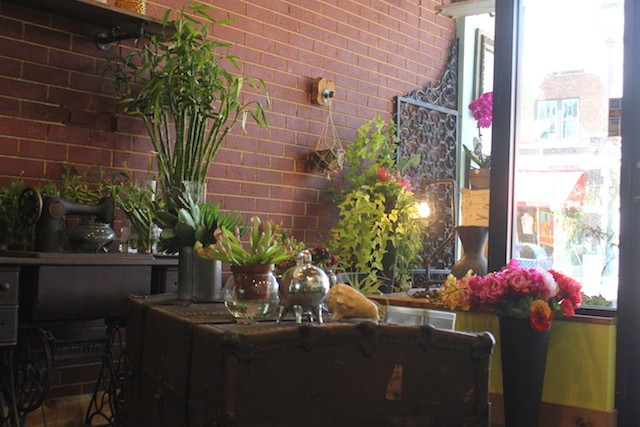 Flamenco Flowers fills the spot that previously held Fleur de Lou. - PHOTO BY SARAH FENSKE