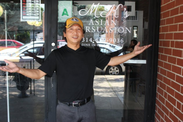 MK Vongnarath, owner of MK's Asian Persuasion. - CHERYL BAEHR