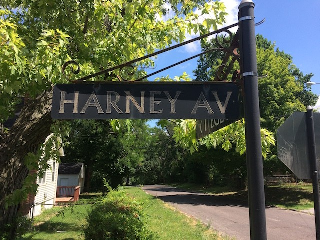 Harney Avenue is in north city, near Bellefontaine Cemetery. - PHOTO BY DANIEL HILL