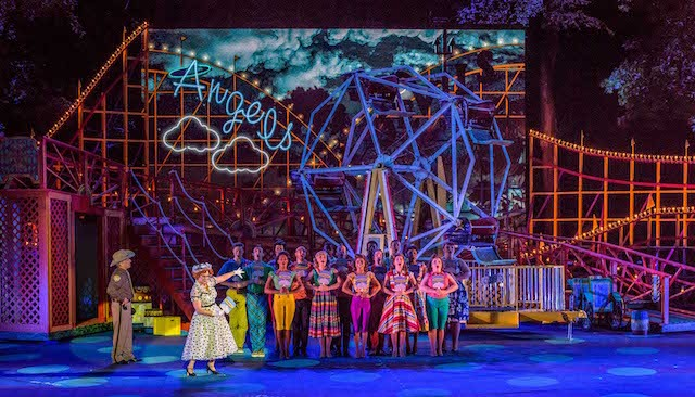 The Muny is selling the Ferris wheel that appeared in All Shook Up. - PHILLIP HAMER/THE MUNY