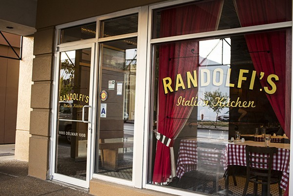 Randolfi's Italian Kitchen will close after dinner service on Saturday, September 9. - MABEL SUEN