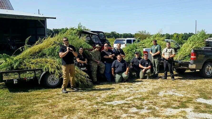 Was Missouri Cops' $100K 'Marijuana Grow Seizure' Just Smoke? | News
