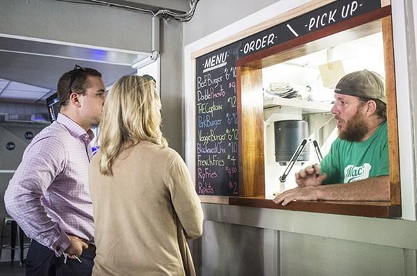 "Chris ""Mac"" McKenzie is hosting a Louisiana style boucherie at Mac's Local Eats this Sunday. - MABEL SUEN"