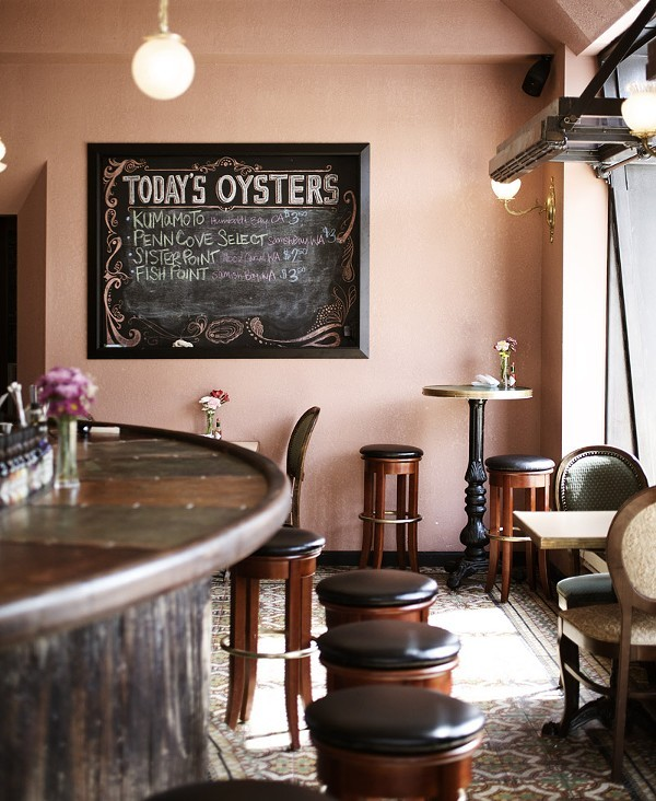 The DeMun Oyster Bar. - JENNIFER SILVERBERG