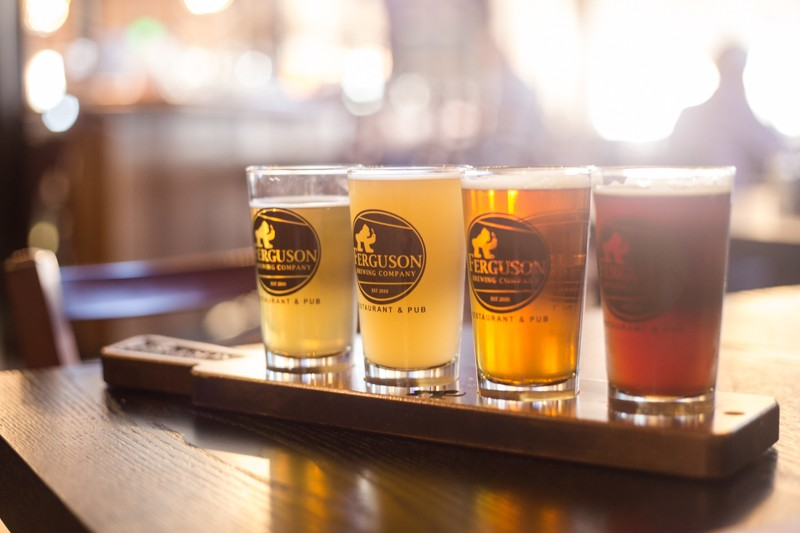 Ferguson Brewing Company is among the breweries offering its wares in Maplewood Saturday. - ROBERT ROHE