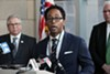 St. Louis County prosecutor Wesley Bell.