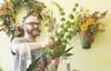 Josh Davis, lead floral designer at Botanicals, works his magic.