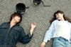 Baku and Asako (Masahiro Shigahide and Erika Karata) have a passionate, short-lived relationship.