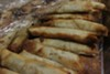 Borek, a pastry stuffed with ingredients such as meat and potatoes.