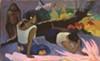 Paul Gauguin, French, 1848–1903; <i>Reclining Tahitian Women,</i> or <i>The Amusement of the Evil Spirit (Arearea no varua ino)</i>, 1894; oil on canvas; 23 5/8 x 38 9/16 inches; Ny Carlsberg Glyptotek, Copenhagen MIN 1832