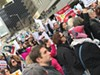 A February protest at the office of Senator Roy Blunt organized by Indivisible St. Louis drew big numbers to Clayton.