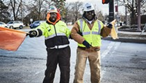 Wash U's 'Gatekeepers' Keep a Construction Zone Smiling
