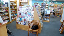 Left Bank Books' Cat in Residence, Spike, Disrupts Feminist Reading