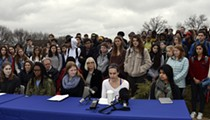 In Belleville, Students Risk 'Consequences' for Joining March 14 Walkout