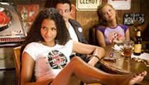 Rodriguez and Tarantino's two-headed film is a B-movie blast.