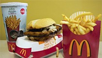 <p>McRib Value Meal</p>