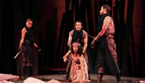 Crimson King: The Rep's <i>Macbeth</i> is bloody brilliant