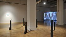 In the Galleries - <i>Two Sides of a 45</i> <b>CLOSES March 9</b> at Des Lee Gallery