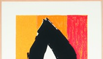 In the Galleries - Robert Motherwell: Abstract Expressionist CLOSES July 22 at SLUMA