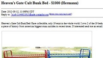 Bunk Beds From Mass Suicide For Sale on St. Louis Craigslist