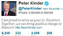Peter Kinder Second to Anthony Weiner in Embarrassing Tweets of 2011