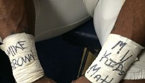 "Rams' Davin Joseph Writes ""I Can't Breathe"" on Cleats for Eric Garner: Ex-Fans Burn Jerseys"