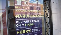 Mardi Gras: Rent a Soulard Apartment for ... $1,000?