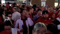 Racist Fans Clash with Ferguson Protesters at Cardinals Game