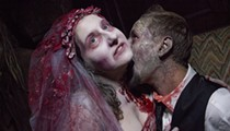 This Couple Loves Haunted Houses So Much, They Got Married at the Darkness