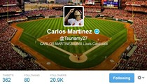NSFW: Cardinals Pitcher Carlos Martinez Comes Out as Not Gay on Twitter