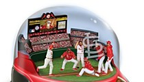 Snow Globe Baseball Helmet = Ugliest World Series Collectible Ever?