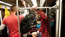 No Pants MetroLink Ride 2014: Pantsless Passengers Take Over Transit [PHOTOS]