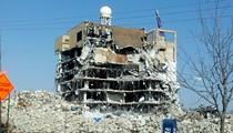 Demolition Makes Forest Park Hospital Look Even Creepier [Photos]