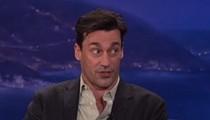 Jon Hamm on Conan: 'I Am Tremendously Awkward'