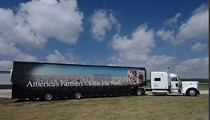 """Monsanto's """"Semi Truck on Steroids"""" Makes a Pit-Stop in Wentzville"""