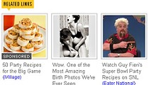 Arty, Soft-Core Childbirth Photo Has a Place, but a Food Blog Ain't It