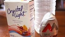 Battle Water Enhancers: Crystal Light vs. MiO