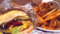 Guess Where I'm Eating this Cheeseburger and French Fries and Win $10 to La Tropicana Market & Cafe [Updated]!